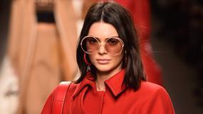 Gwiazdy na Milan Fashion Week 2017. Kendall Jenner wzbudziła zamieszanie...