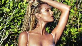 """""""Aniołek"""" Victoria's Secret promuje własną markę strojów kąpielowych. Co za ciało!"""