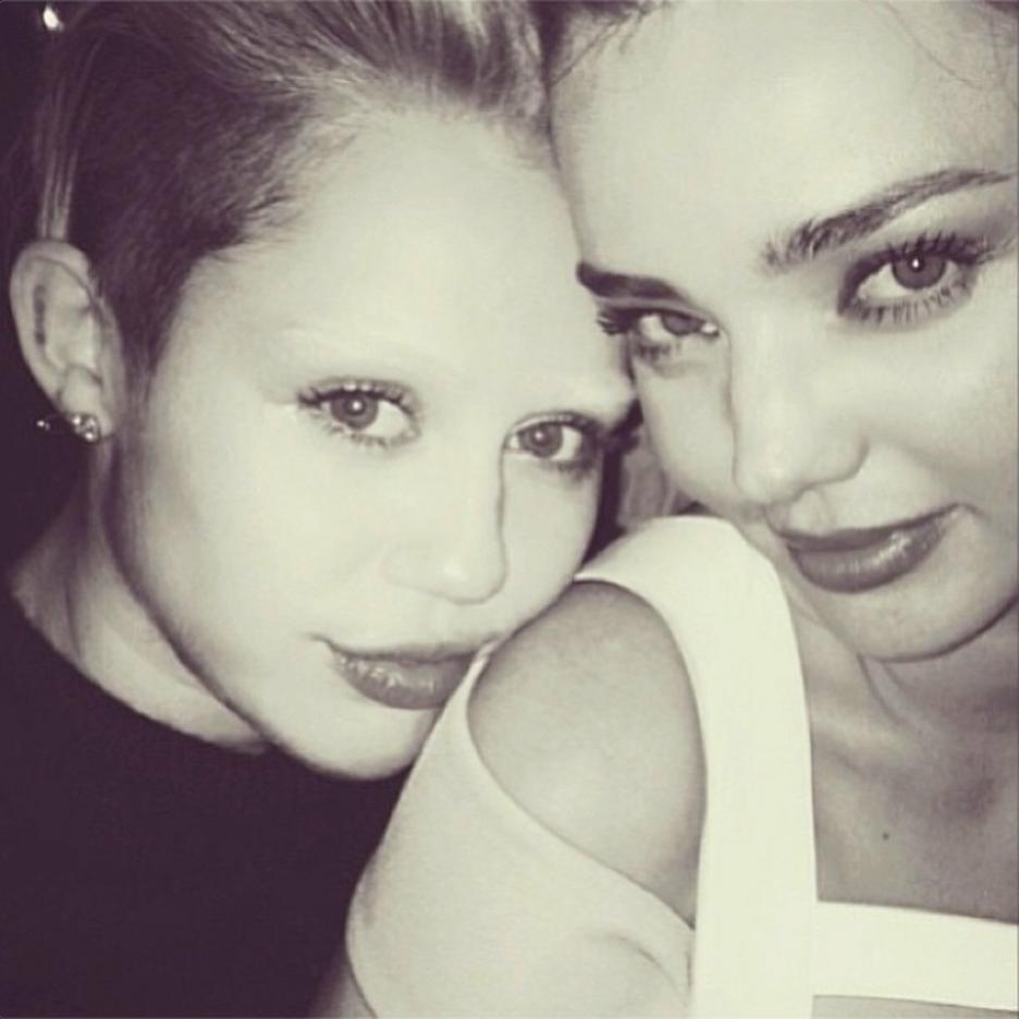 Miley Cyrus i Miranda Kerr