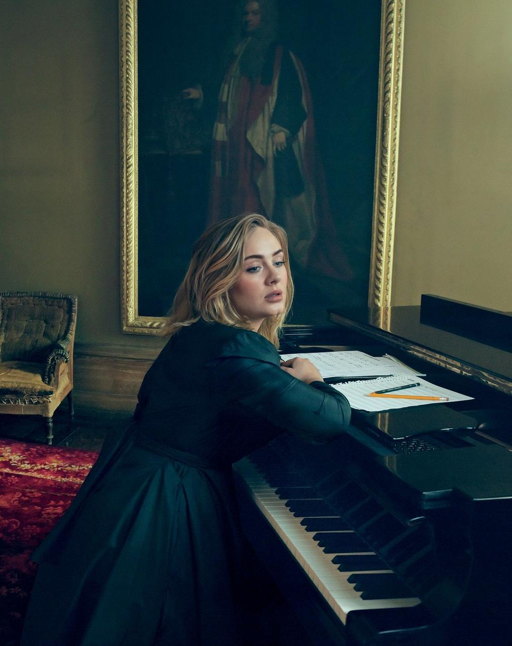 Adele for Vogue US
