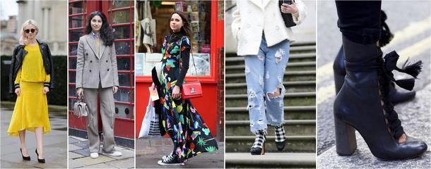 Street style na Fashion Weeku w Londynie