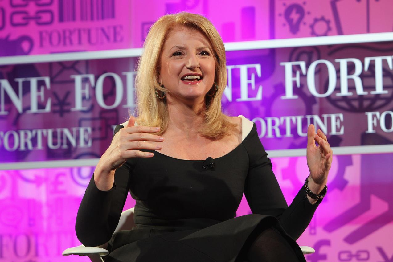 Arianna Huffington / Getty Images