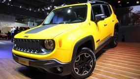 Jeep Renegade - nowy kompaktowy SUV (Paryż 2014)