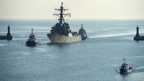 Amerykański niszczyciel wpłynął do Gdyni