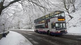 Wlk. Brytania: opady śniegu sparaliżowały środkową Anglię
