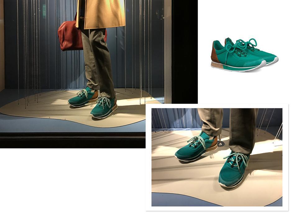 sneakersy Hermes