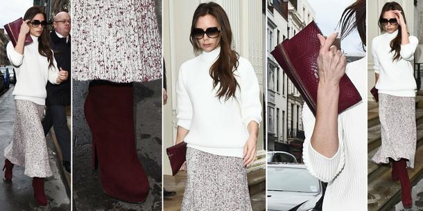 Best Look: Victoria Beckham w Celine i VB