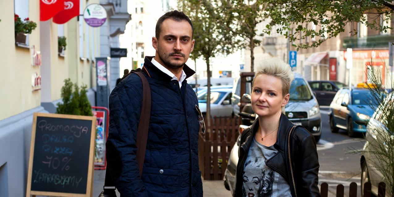 Joanna Papużyńska i Marcin Morawski / fot. Marek Pietroń