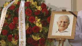 """Pogrzeb Witolda Pyrkosza. Pożegnali go bliscy i przyjaciele z planu """"M jak miłość"""""""