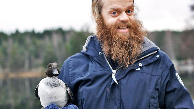 Lars és a megmentett hápi /Forrás: Tumblr