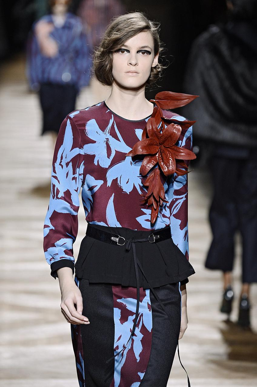 Dries Van Noten - Runway RTW - Fall 2014 - Paris