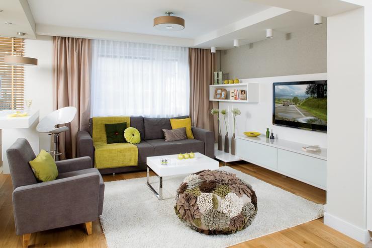 Taki dom to spełnienie marzeń  Dom -> Otwarta Kuchnia Male Mieszkanie