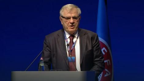 Tomislav Karadžić na kongresu UEFA