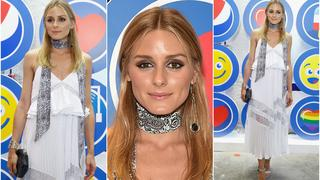Best Look: Olivia Palermo w sukience boho