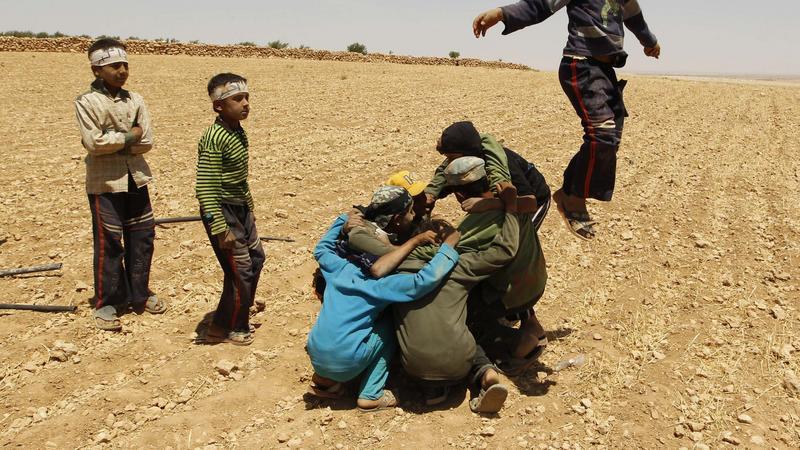Wojna wpędziła Syrię w tragiczną sytuację