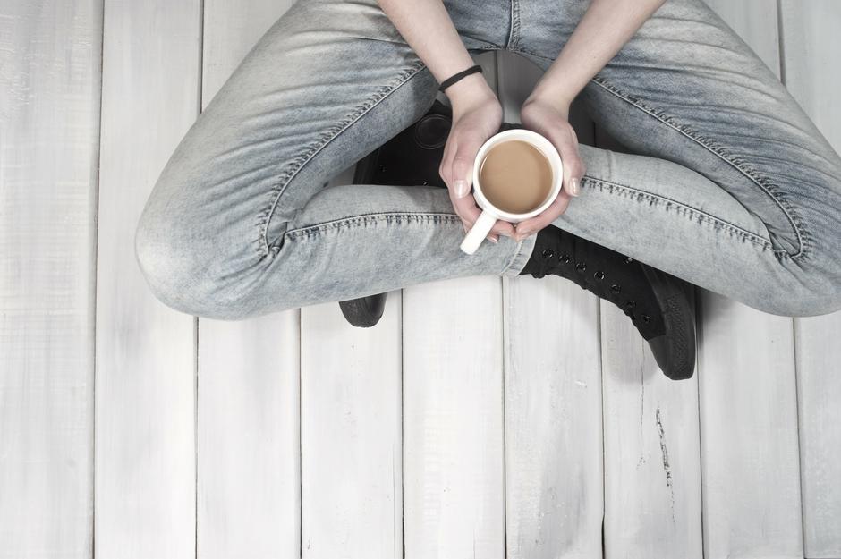 Kofeinowy uśmiech