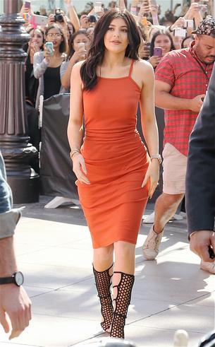 Best Look: Kylie Jenner w sukience Topshop