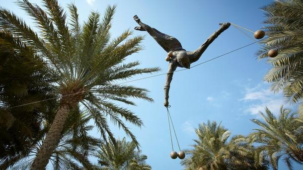 """Polskie Rzeźby balansujące"""" w Miami"""