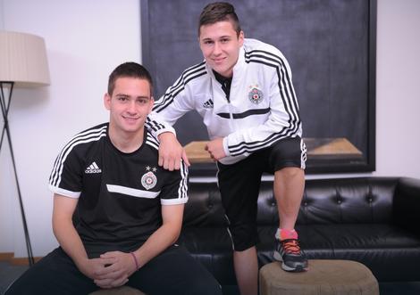 Andrija Živković i Danilo Pantić