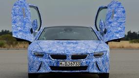 BMW i8 tuż przed debiutem