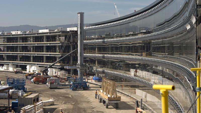 Az Apple új központja - Fotó: MTI