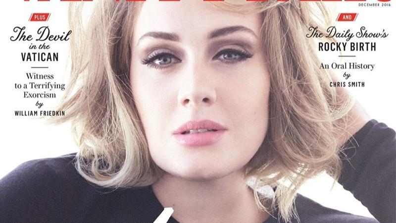 "Adele na okładce grudniowego ""Vanity Fair"""