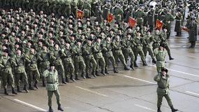 Próby przed defiladą na Placu Czerwonym z okazji Dnia Zwycięstwa