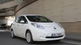 Test Nissana Leafa: jazda od gniazdka do gniazdka