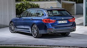 Nowe BMW 5 Kombi (2017)