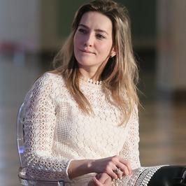 "Kamilla Baar na spotkaniu z twórcami spektaklu ""Salome"""