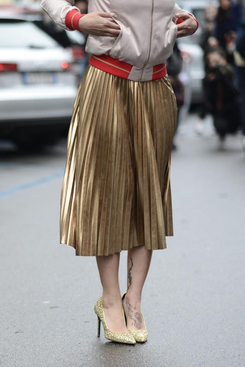 Trendy: plisowana spódnica