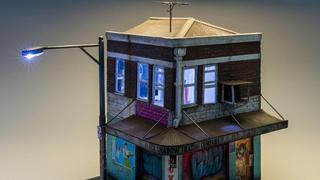 Niesamowite miniaturowe ulice i budynki australijskiego artysty