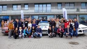 Absolwenci Akademii Auto Świat podczas Ford Driving Skills For Life
