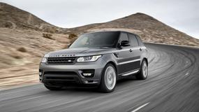 Range Rover Sport na zdjęciach