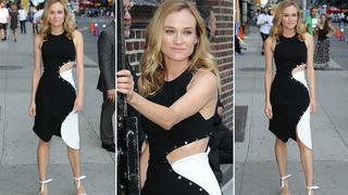 Best Look: Diane Kruger w sukience Mugler