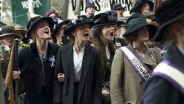 "Carey Mulligan i Helena Bonham Carter w ""Suffragette"""