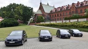 Volkswagen Golf Sportsvan, który przetransportuje papieża