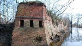 Kostrzyn nad Odrą - ruiny kostrzyńskiej twierdzy i Starego Miasta