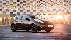 Nissan Leaf w wersji Black Edition