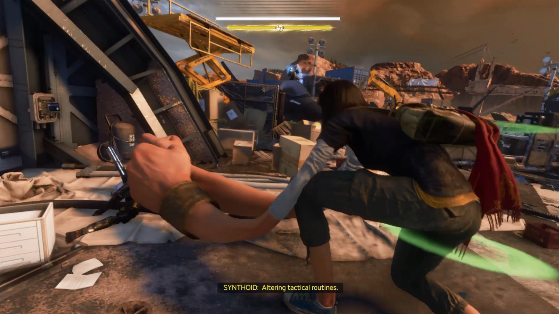 S mohutnými končatinami sme hravo zneškodnili väčšinu nepriateľov.