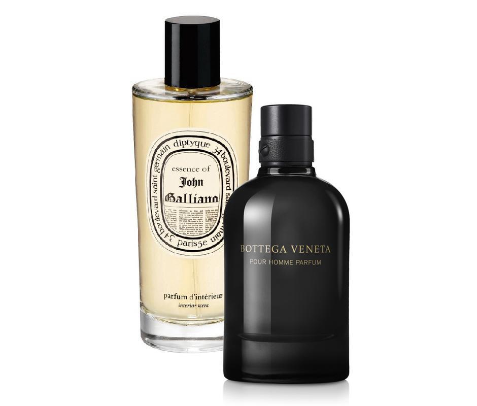 Zapach skóry - Diptyque John Galliano i Bottega Veneta Pour Homme Parfum