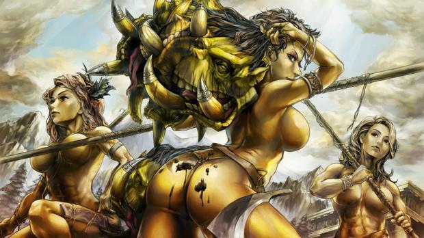Japońskie gry erotyczne - Dragon's Crown