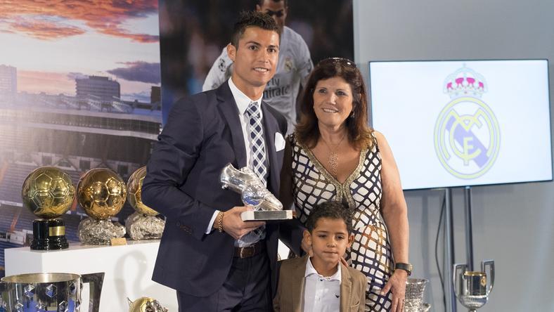 Együtt a Ronaldo-család /Fotó: AFP