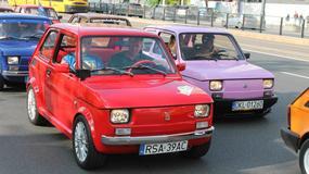 Fiat 126p - 13 Zlot legend w Warszawie