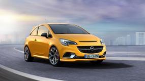 Opel Corsa GSi z zawieszeniem od OPC