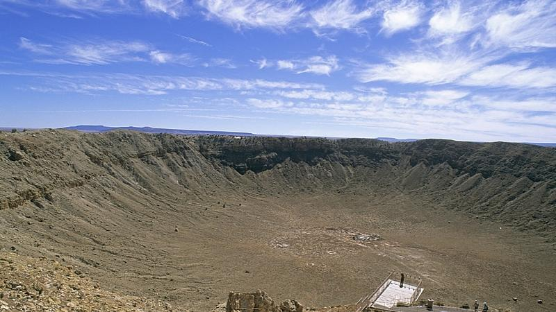 Krater pod uderzeniu meteoru, Arizona