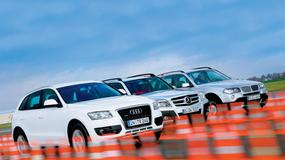 Audi Q5 kontra Mercedes GLK i BMW X3 - Supergwiazdy z Niemiec