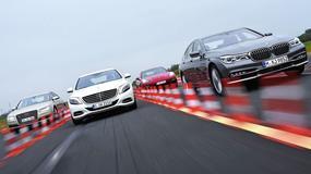 Limuzyna dla szefa wszystkich szefów - nowe BMW 750i kontra Audi A8, Mercedes klasy S i Porsche Panamera