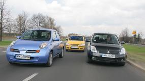 Stylowe maluchy za małe pieniądze: Nissan Micra kontra Opel Corsa, Suzuki Swift