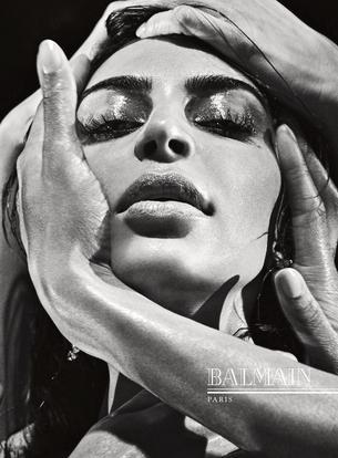 Zmysłowa Kim Kardashian dla Balmain